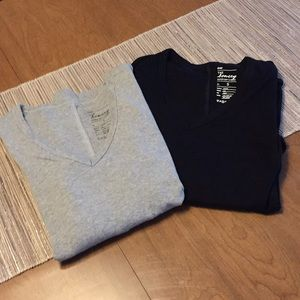 Bundle of 2 Gap The Bowery Long Sleeved Tees